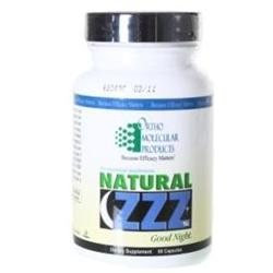 Ortho Molecular Products, Natural ZZZ's 60 capsules