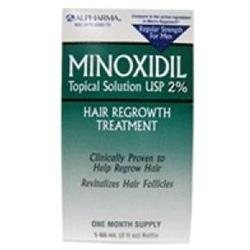Rogaine Hair Regrowth Mens Minoxidil 2% Regular Strength Hair Regrowth Treatment Solution
