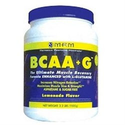 MRM BCAA plus G Lemonade - 180 g