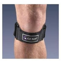 FLA Orthopedics FL37500UNBLK GELBAND PATELLA KNEE STRAP Color Black