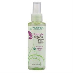 Aubrey Organics NuStyle Detangler and Shine Booster - 5 fl oz