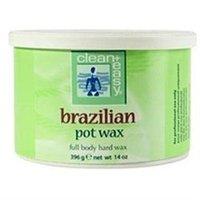 clean + easy Brazilian Pot Wax 14 oz.