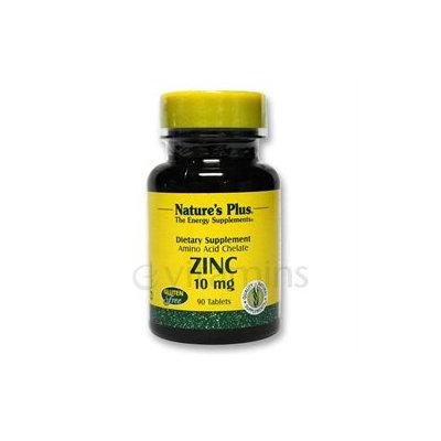 Nature's Plus Zinc 10 MG - 90 Tablets - Zinc