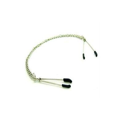 Phs International Nipple Clamps Tweezer With Chain Chrome
