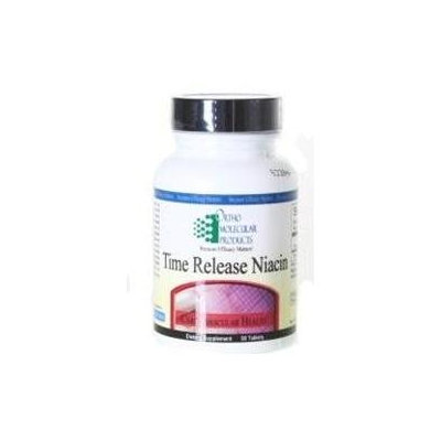 Ortho Molecular Products Time Release Niacin, 90 ea