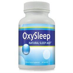 Pacific Naturals Oxy Sleep Natural Sleep Aid Capsules - Herbal Sleeping Pill, Fall Asleep Fast Remedy ~ 1 Bottle