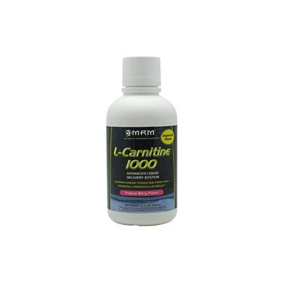 MRM Liquid L-Carnitine 1000 - Tropical Berry Flavor