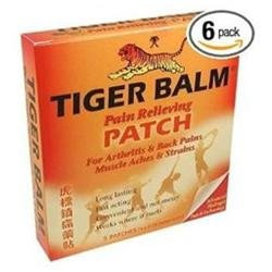 Tiger Balm Pain Relieving Patch For For Arthritis, Back Pains, Muscle