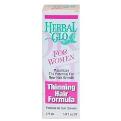 Herbal Glo Thinning Hair Formula for Women 5.9 fluid ounces For New Hair Growth