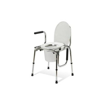 Medline G98202 Non Padded Drop Arm Commode