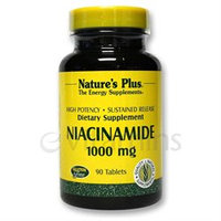 Nature's Plus - Niacinamide Sustained Release 1000 mg. - 90 Tablets