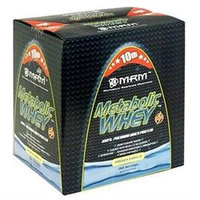 MRM Metabolic Whey Protein French Vanilla - 10 lbs