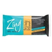 Zing Bar Peanut Butter Chocolate Chip 1 Bar by Northwest Nutritional Foods