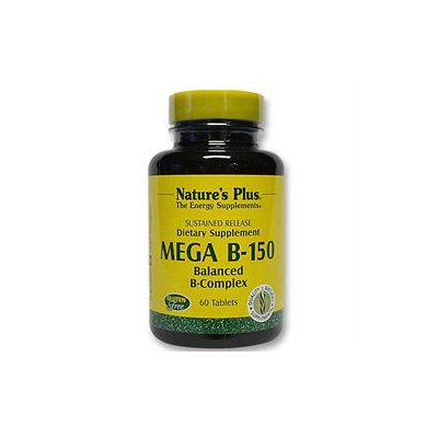 Nature's Plus Mega B-150 - 60 Tablets