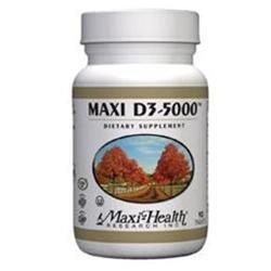 Maxi D3 5000 180 Tab by Maxi Health Kosher Vitamins (1 Each)