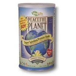 VegLife - Peaceful Planet Super Spirulina Protein Shake Unsweetened French Vanilla - 17.2 oz.