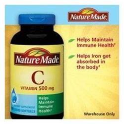 Nature Made Vitamin C 500mg - 180 Softgels