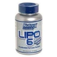 Nutrex Lipo 6 Accelerated Fat-Loss Formula Capsules 120 Count