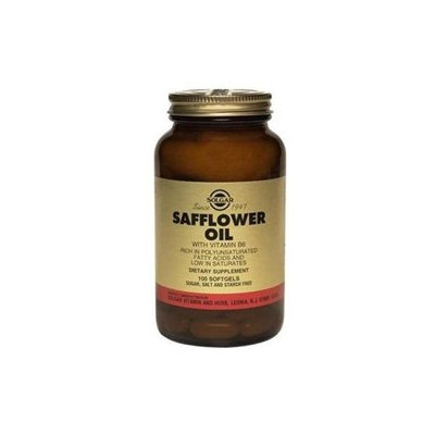 Solgar Safflower Oil with Vitamin B6 - 100 Softgels