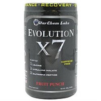 Star Chem Labs Evolution X7 Fruit Punch - 300 Grams Powder - Post Workout Formulas