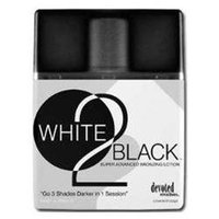 White 2 Black Indoor Tanning Bed Lotion By Devoted Creations White to Black