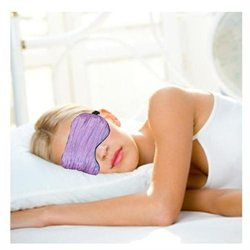 Relaxso SPA Therapeutics Eye Mask, Chiffon Crinkle Violet