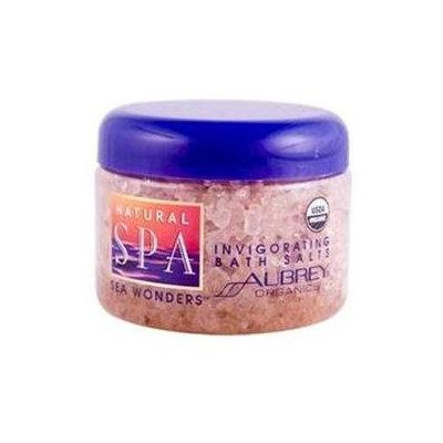 Aubrey Organics Natural Spa Sea Wonders Invigorating Bath Salts - 12 oz