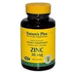 Nature's Plus - Zinc, 30 mg, 180 tablets [Health and Beauty]