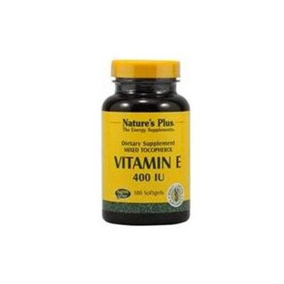 Nature's Plus - Vitamin E Mixed Tocopherol 400 IU - 180 Softgels