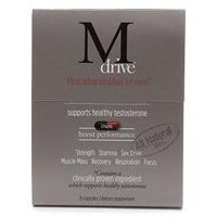 DreamBrands Mdrive Naturally Increase Testosterone, Capsules, 15 ea