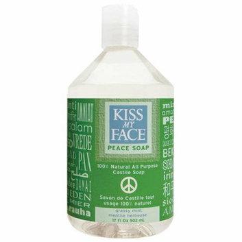 Kiss My Face Corp. Kiss My Face Castile Peace Soap Grassy Mint 17 fl oz