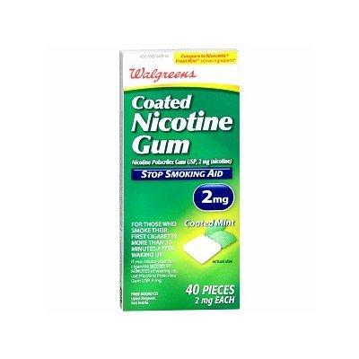 Walgreens Coated Nicotine Gum