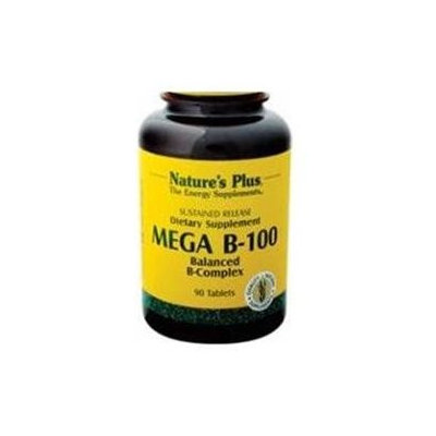 Nature's Plus Mega B-100 (Sustained Release) - 90 Tablets - Vitamin B Complex