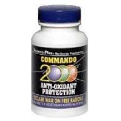 Nature's Plus Commando 2000 - 60 Tablets - All Other Antioxidants