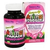 Nature's Plus - Source of Life Animal Parade Gummies Bubble Gum - 50 Gummies
