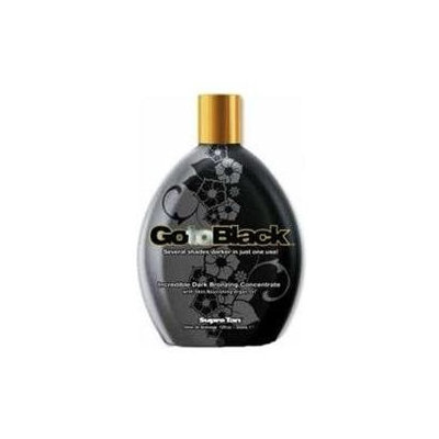 Supre Tanning Products Go To Black Bronzer Tanning Lotion by Supre