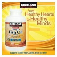 Kirkland Signature Natural Fish Oil Concentrate 1000 Mg with 300 Mg Omega-3.