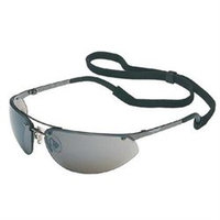 Dalloz Safety Sperian 11150804 Fuse Safety Eyewear (Gunmetal/Silver Mirror, Hardcoat)