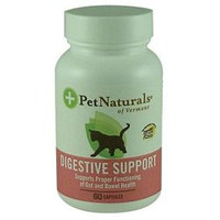 Pet Naturals of Vermont Digestive Support For Cats - 60 Capsules