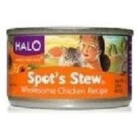 Halo Cat Spot's Stew Chicken 3.5 oz. Can