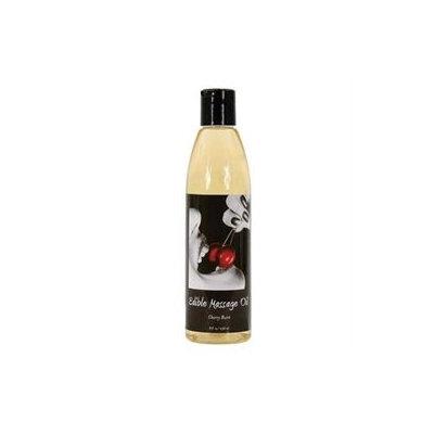 Earthly Body Edible Massage Oil Cherry Burst - 8 fl oz - Vegan