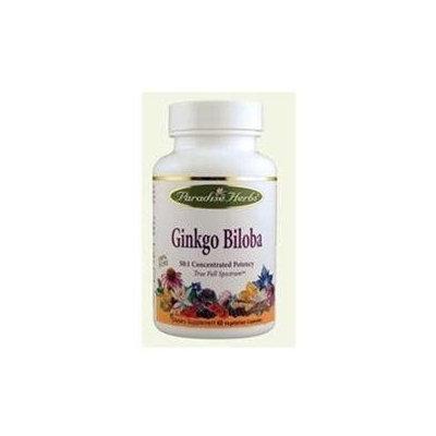 Paradise Herbs Ginkgo Biloba - 120 Vegetarian Capsules