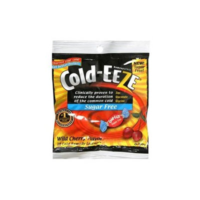 Cold-Eeze Sugar Free Cold Remedy, Wild Cherry, 18 lozenges