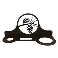 Village Wrought Iron HD-89 Hair Care Caddy - Pine Cones