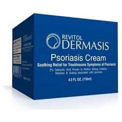Pacific Naturals Dermasis Psoriasis Cream, 4 oz, Revitol Skin Care