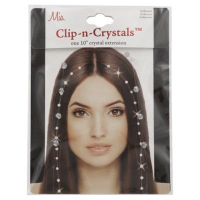 Mia Clip In Crystal extension 10
