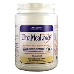 Metagenics UltraMeal Plus 360 Medical Food, Vanilla, 26 oz