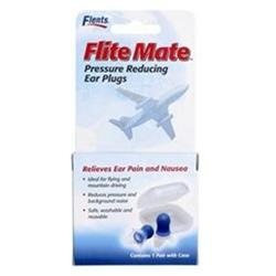 Flents Flite Mate Pressure Reducing Earplugs - 1 Pair w/ Case