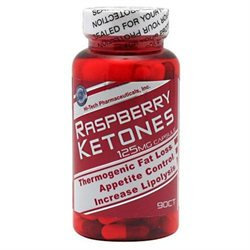 Hi-Tech Pharmaceuticals - Raspberry Ketones 125 mg. - 90 Capsules