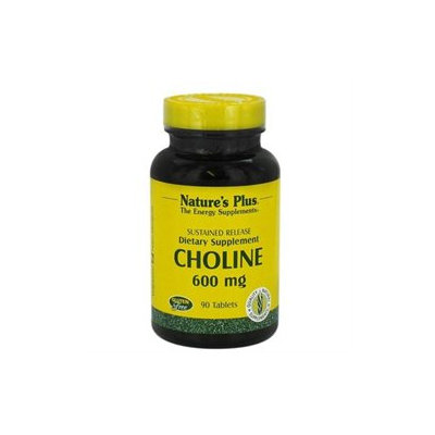Nature's Plus - Choline Sustained Release 600 mg. - 90 Tablets